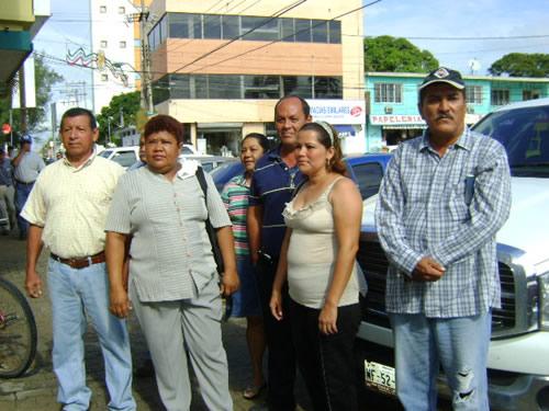 Protestan contra el director de deportes en Altamira